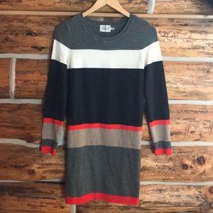 Eliza J long sleeves sweater dress
